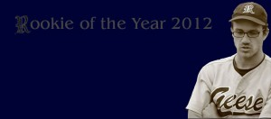 Bernd Schmidl ist der Rookie des Jahres