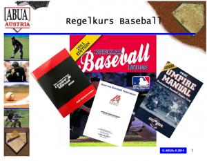 Regelkurs Baseball