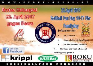 Softball in Rohrbach!